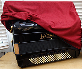 Accordion Dust Cover - The Accordion Lounge