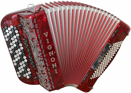 Vignoni Ravel 200 96 Bass Chromatic Button Accordion