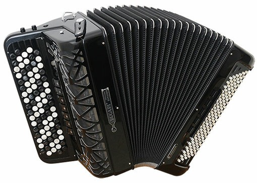 Bugari Superfisa 380/SP/C Free Bass Convertor Chromatic Button Accordion