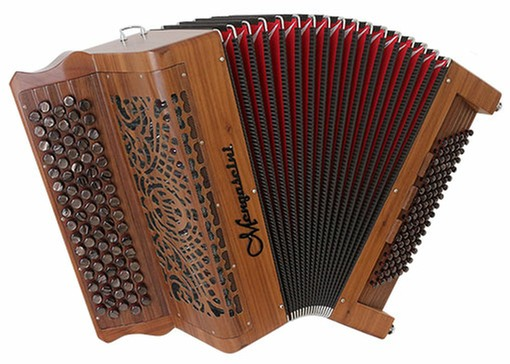 Mengascini French Retro 96 Bass Chromatic Button Accordion