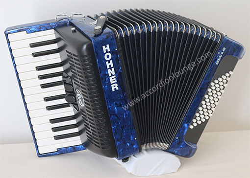 Hohner Bravo II 48 Bass Piano Accordion