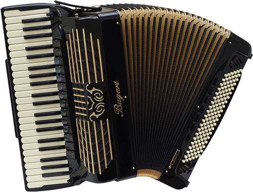 Bugari Armando 288 Gold Plus Piano Accordion - The Accordion Lounge