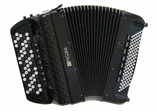 Pigini 42/B Free Bass Converter Button Accordion