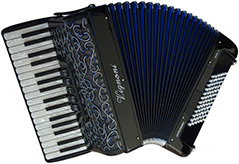 Accordion With Light Decoration